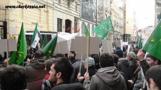 «Circassia platform»: This war is not our war!
