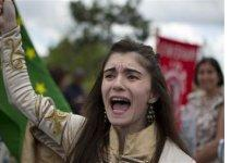 London protesters decry 'Corporate Olympics'